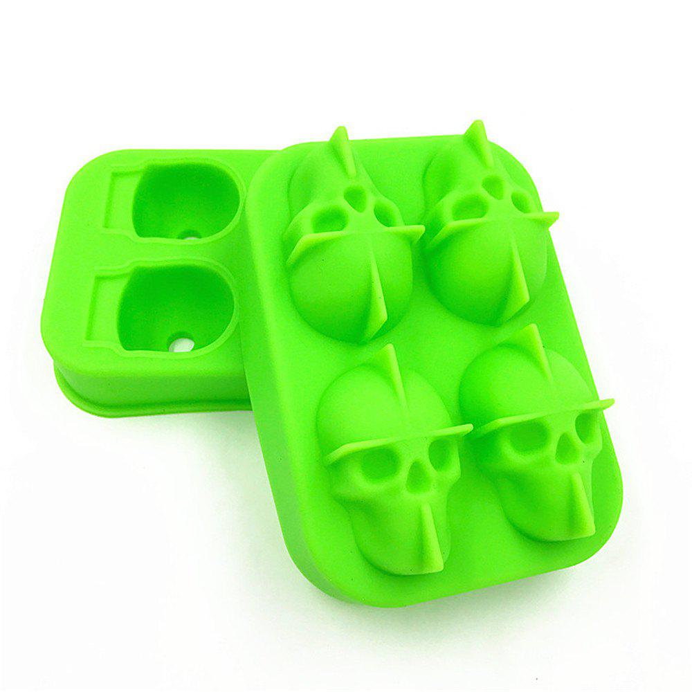 3D Skull Shape Ice Cube Mold Maker Bar Party Trays Food Grade Chocolate Mould full automatic sambusa maker food dumpling maker machine industrial automatic momo dumpling maker