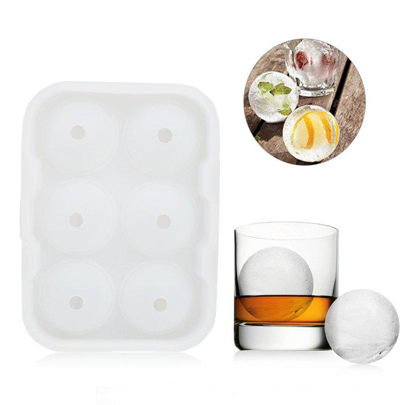 Hoard Large Size 6 Cell Whiskey Ice Ball Mold Silicone Cube Tray con ball tray size 14 x 9x 6 magic tricks magician appearing vanising ball magie close up illusion gimmick props comedy