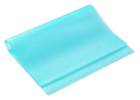 Cuttable Anti Mildew and Easy Cleaning Refrigerator Mats - CYAN OR AQUA