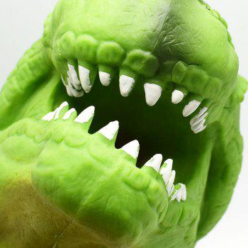 Creative Tyrannosaurus Puppet Hand Toy - CHARTREUSE