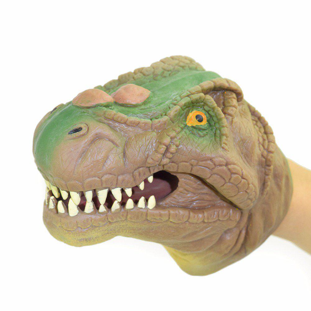 Creative Tyrannosaurus Puppet Hand Toy - LIGHT KHAKI
