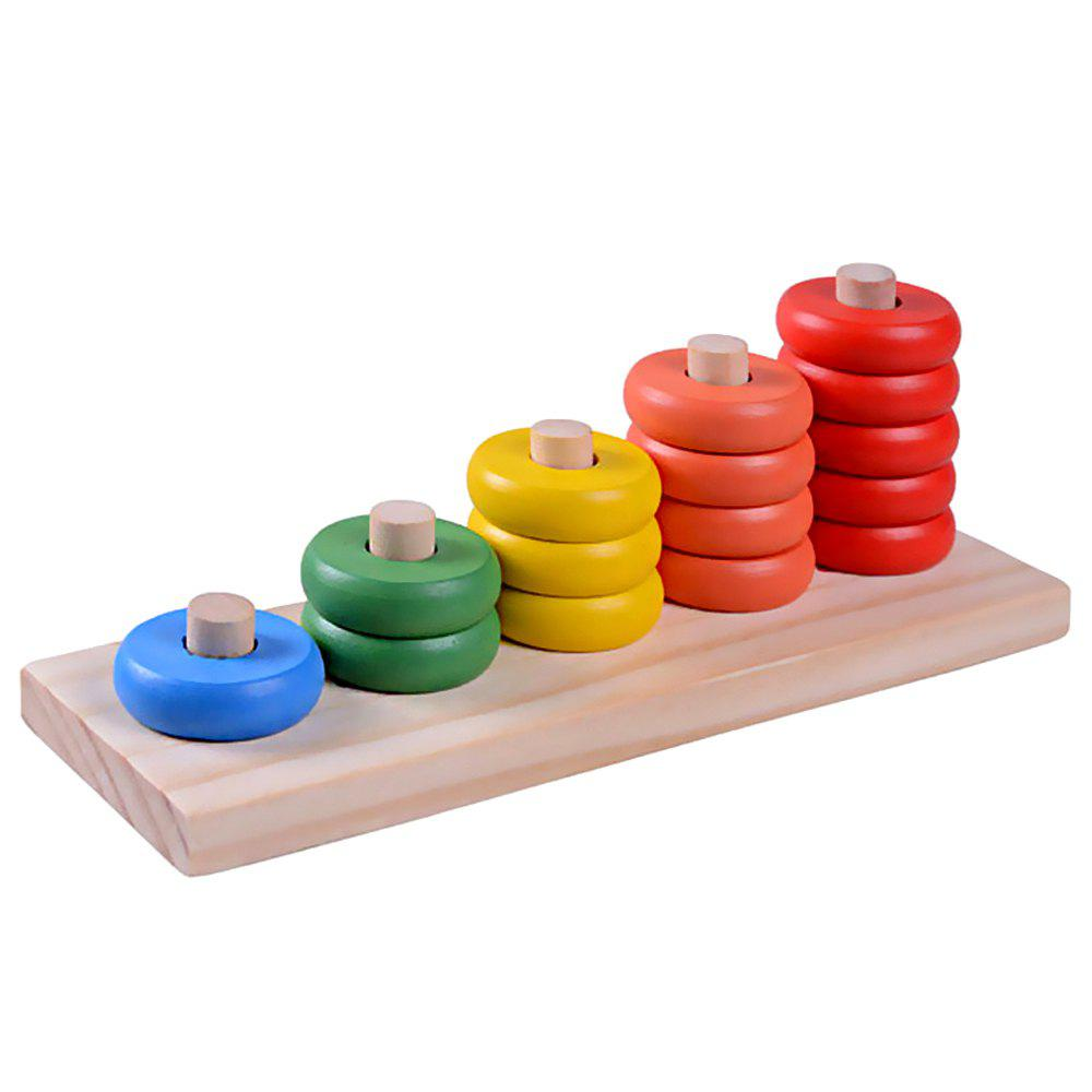 Family Preschool Toys Wooden Children Counter