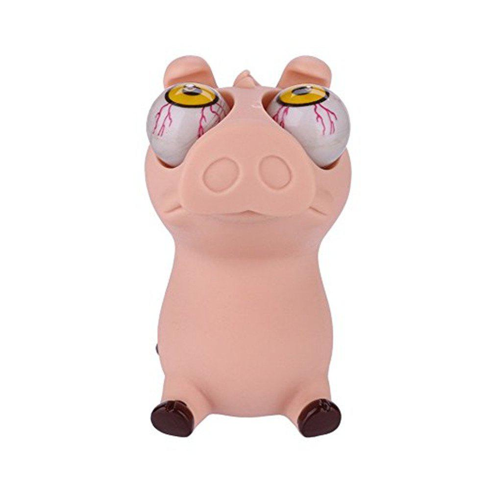 Novelty Squeeze Pig Out Eyes Stress Vent Toys squeeze little bear novelty out eyes stress vent toys
