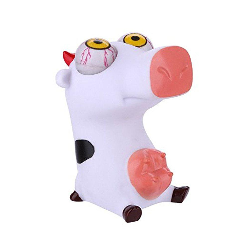 Squeeze Little Cow Novelty Out Eyes Stress Vent Toys squeeze little bear novelty out eyes stress vent toys