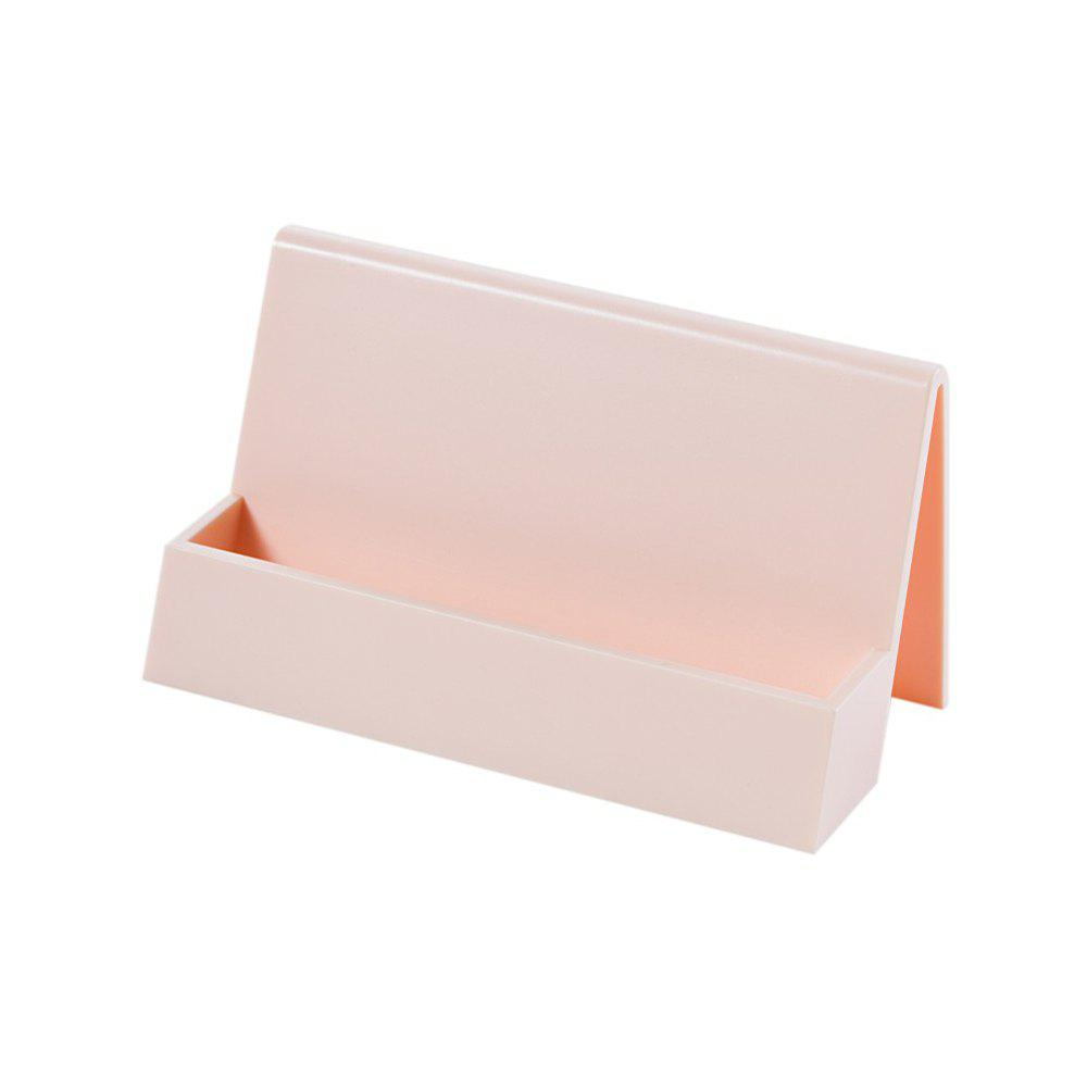 Creative Business Office Desktop Card Storage Rack best promotion four pockets clear desktop office counter acrylic business card holder stand display fit for office school