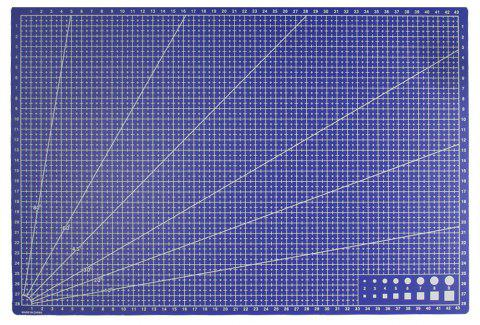 Couture Conception Sculpture Cutting Pad Bureau Papeterie 1 PC - Bleu Royal