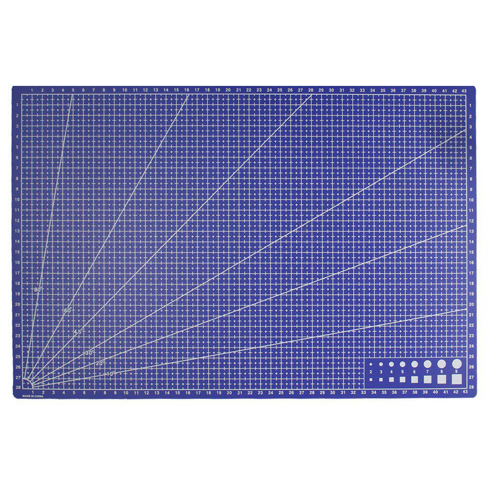 Sewing Design Carving Cutting Pad Office Stationery 1PC - ROYAL BLUE