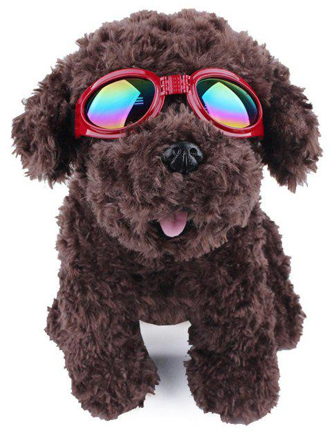 Lovoyager VB042701 Pet Cute Sunglasses - RED ONE SIZE
