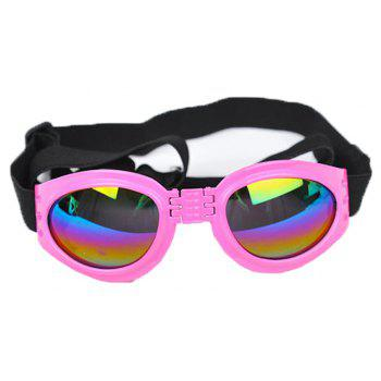 Lovoyager VB042701 Pet Cute Sunglasses - PINK ONE SIZE