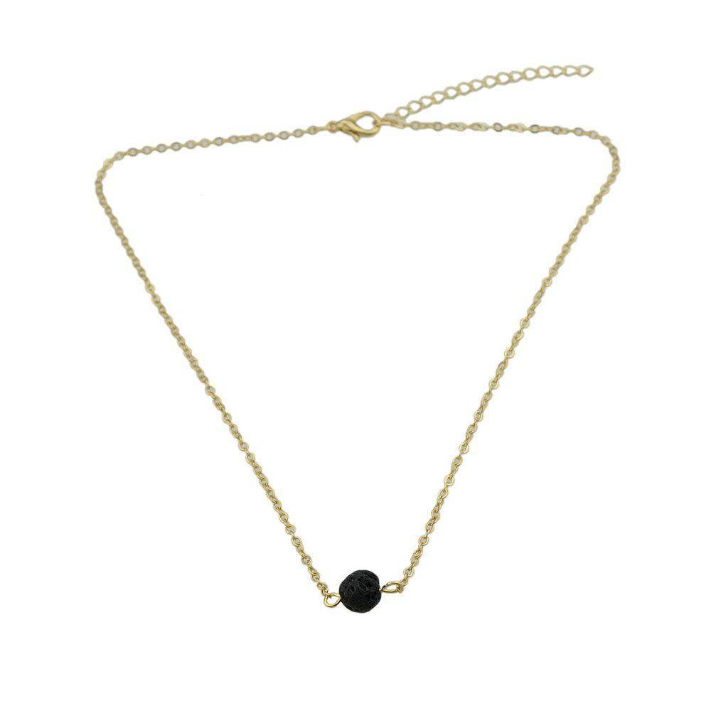 Gold-color Chain Black Beads Chain Necklace 100 pcs rfid id card 125khz proximity key fobs chain token keyfob keytag chain black color