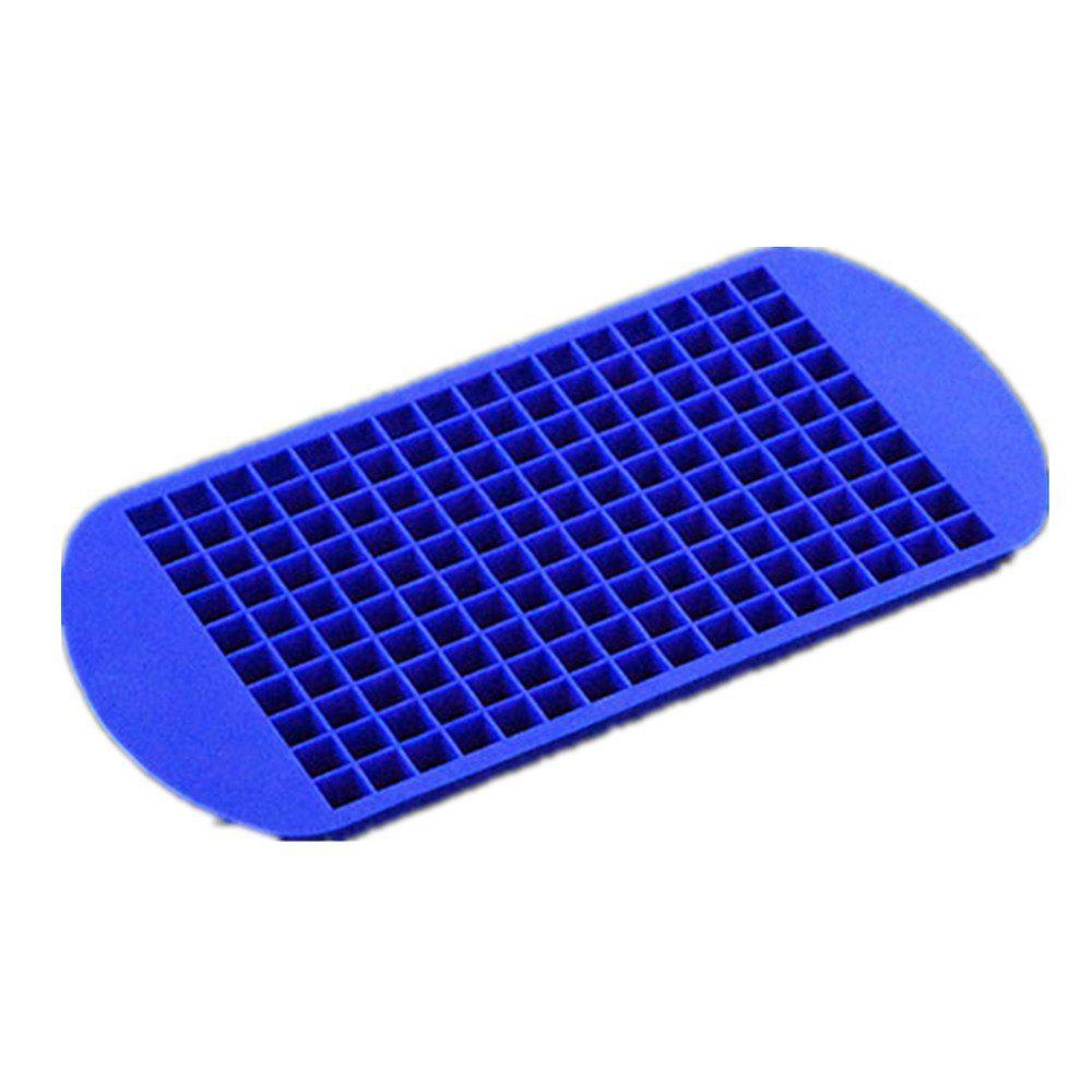 160 Lattice of Small Square Silicagel Ice Chocolate Mold - COBALT BLUE