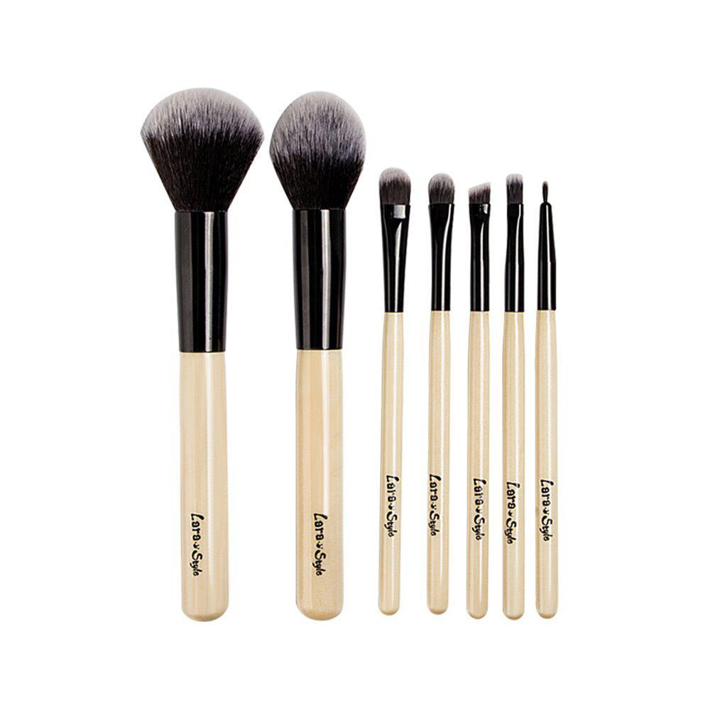 Фото - 7pcs Funditional Make Up Brushes with Bag ladsoul 2018 women multifunction makeup organizer bag cosmetic bags large travel storage make up wash lm2136 g