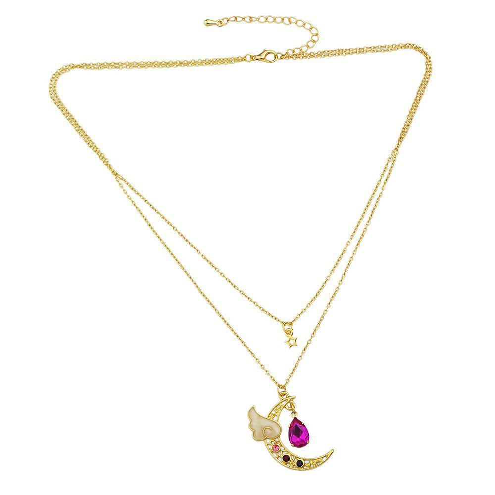 Fashion Sweet Star Hollow Necklace hollow star