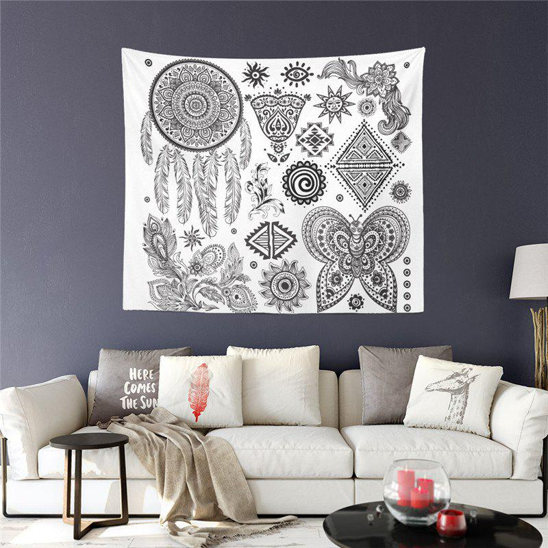 Exotic Style Series Totem Elephant God Decoration Wall Tapestry GT-2 luminous elephant ring animal series exotic jewelry