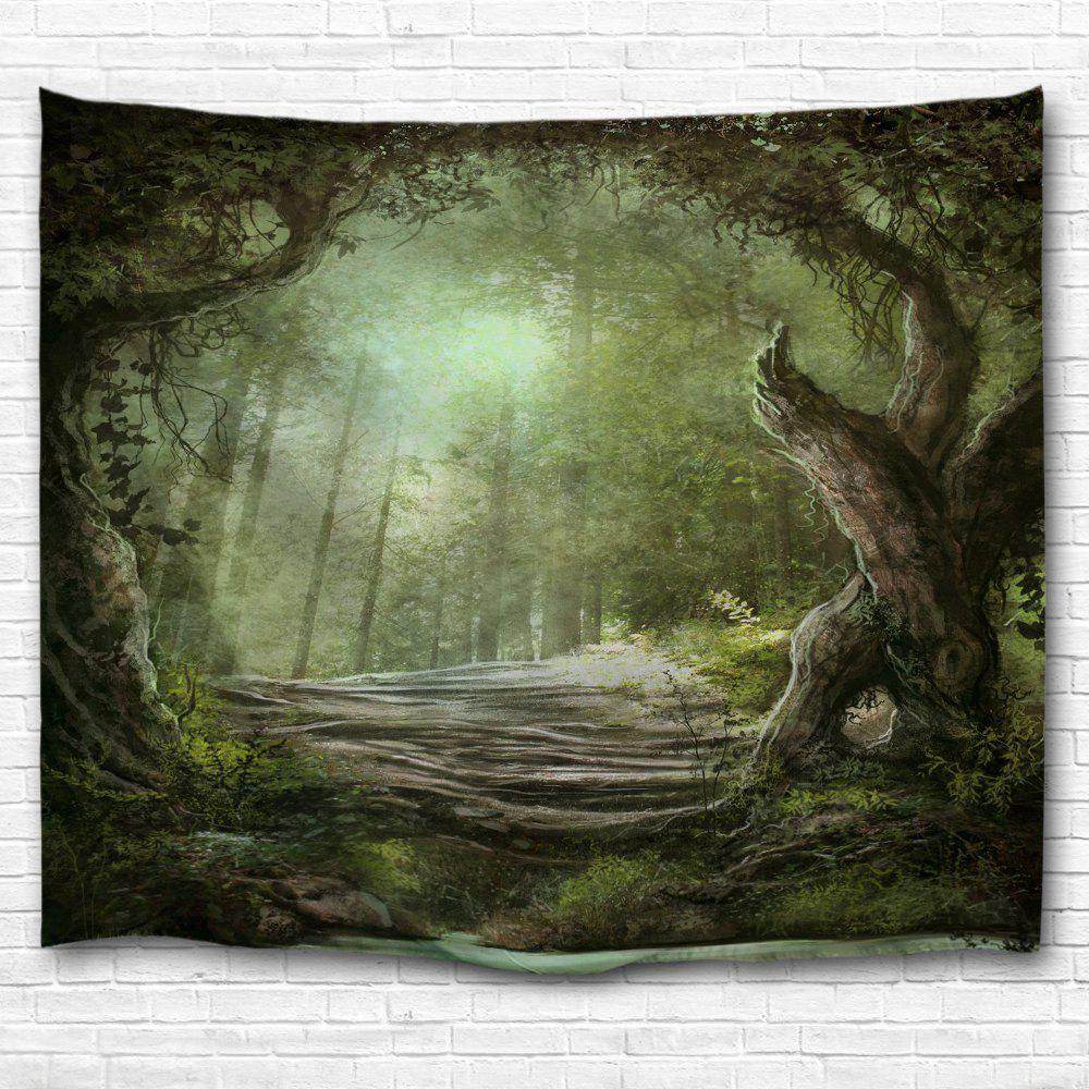 Lush Trees 3D Printing Home Wall Hanging Tapestry for Decoration colorful trees 3d printing home wall hanging tapestry for decoration