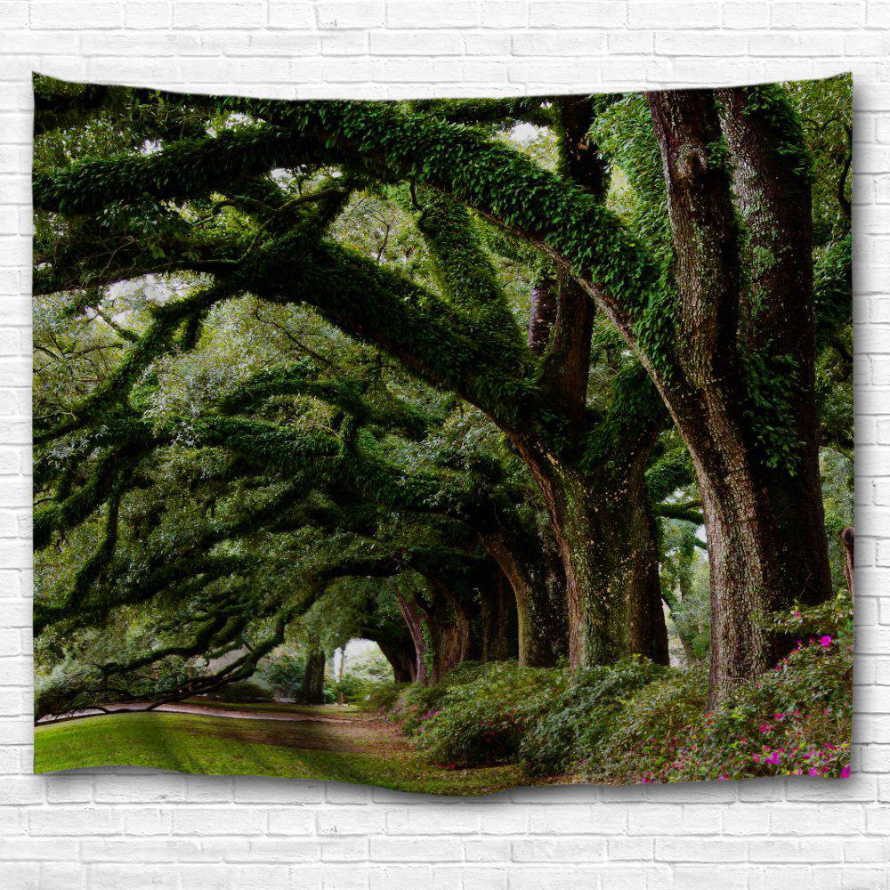 Curved Trees 3D Printing Home Wall Hanging Tapestry for Decoration colorful trees 3d printing home wall hanging tapestry for decoration