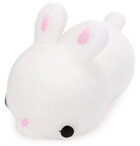 Drôle mignon Mini Cartoon TPR Animal Jumbo Jouet Squishy - Blanc Lait