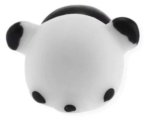 Funny Cute Mini Cartoon TPR Animal Jumbo Squishy Toy - BLACK