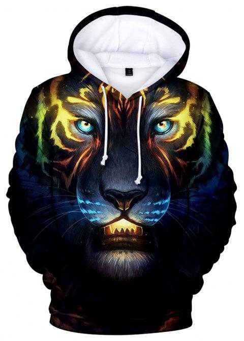 ac3b4e19a955 2019 2018 New Tiger Printed 3D Hoodie In multicolor A XL
