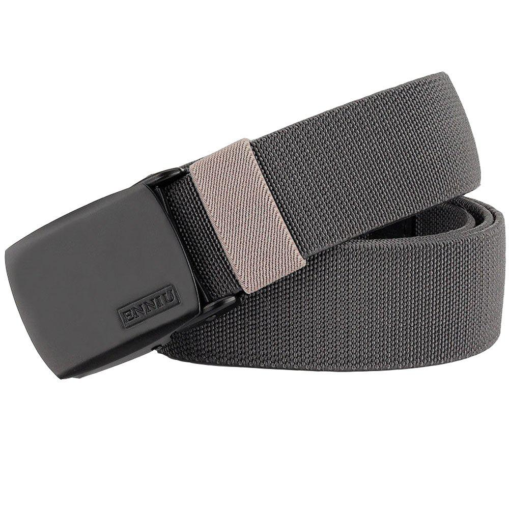 ENNIU Adjustable Multi-function Tactical Military Elastic Black Alloy Clasp Belt - DARK GRAY