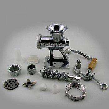 Household Multifunctional Small Manual Meat Grinder - SILVER