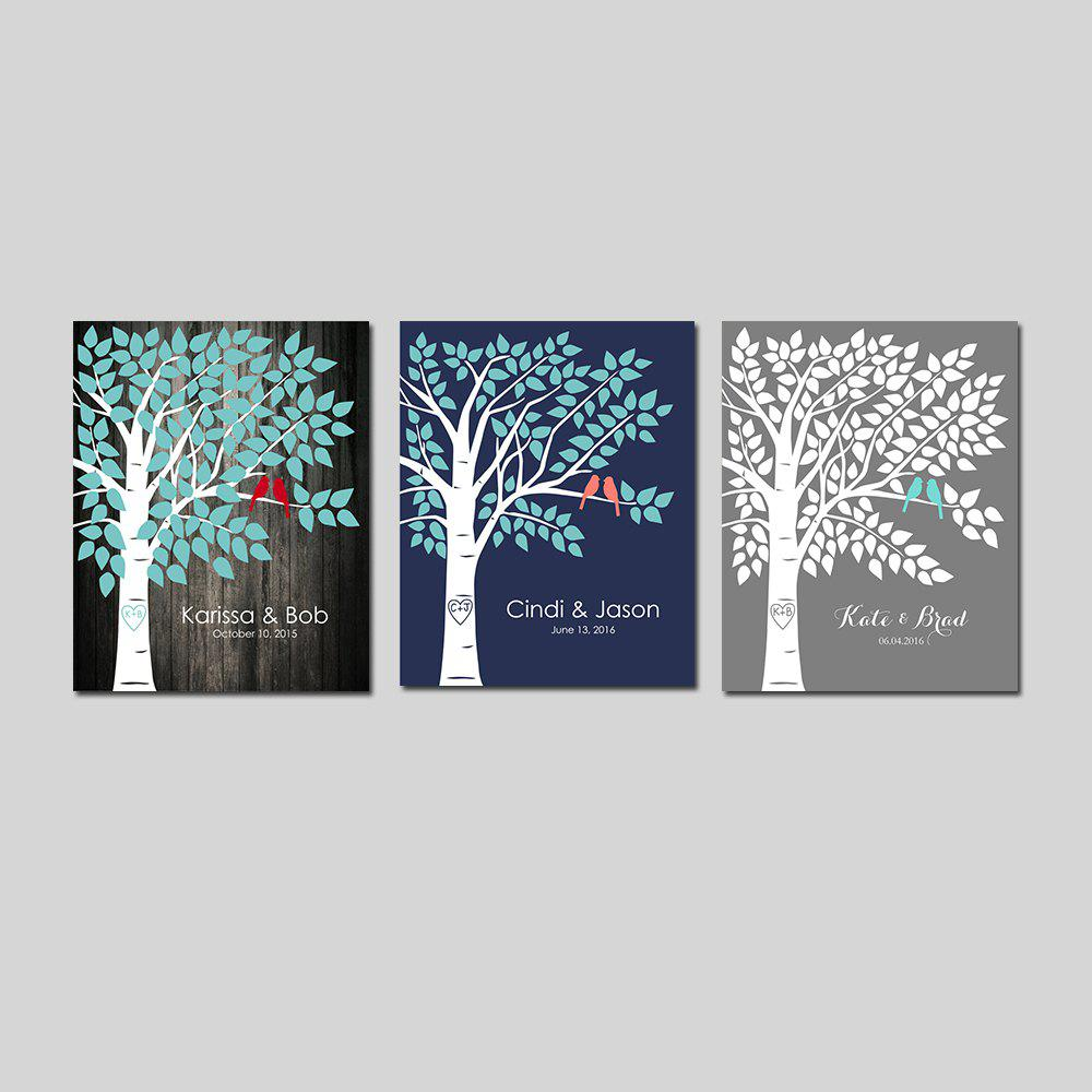Frame Canvas Modern Nordic Living Room Background Wall Decoration Print 3PCS