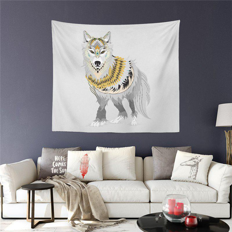 Exotic Style Series Totem Dog God Decoration Wall Tapestry GT-17 sun god totem beach throw