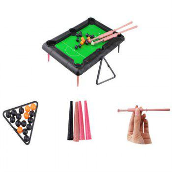 Creative Pool Table Children Play Small Gifts - multicolor A
