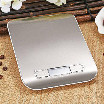 Digital Liquid Crystal Electronics Called Kitchen Tools -Silver - SILVER