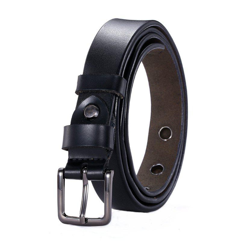 Fashion Square Buckle Hollow Leather Belt цена 2017