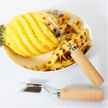 Easy Fruit Tools Stainless Steel Pineapple Peeler - SILVER