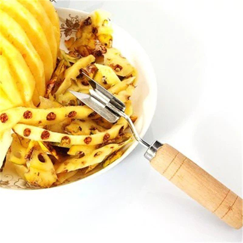 Easy Fruit Tools Stainless Steel Pineapple Peeler stainless steel fruit pineapple peeler core slicer cutter tool