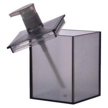Bathroom Bath Liquid Storage Bottle - SMOKEY GRAY 8.5X8.5X16.4CM