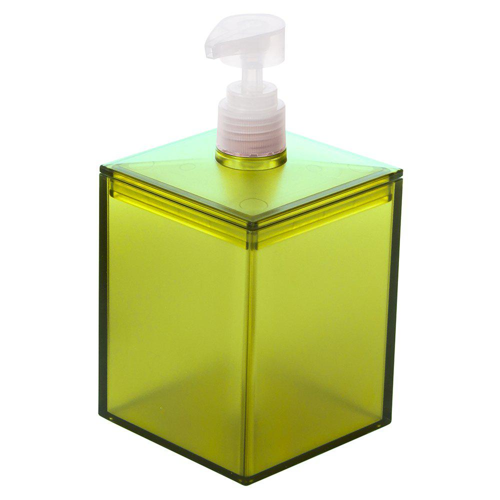 Bathroom Bath Liquid Storage Bottle - GREEN SNAKE 8.5X8.5X16.4CM