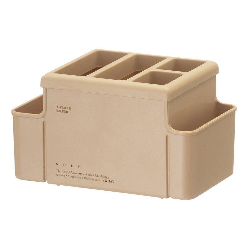 Фото Office Desk Multifunction Stationery Insert Box Plastic Multi-Pen Holder