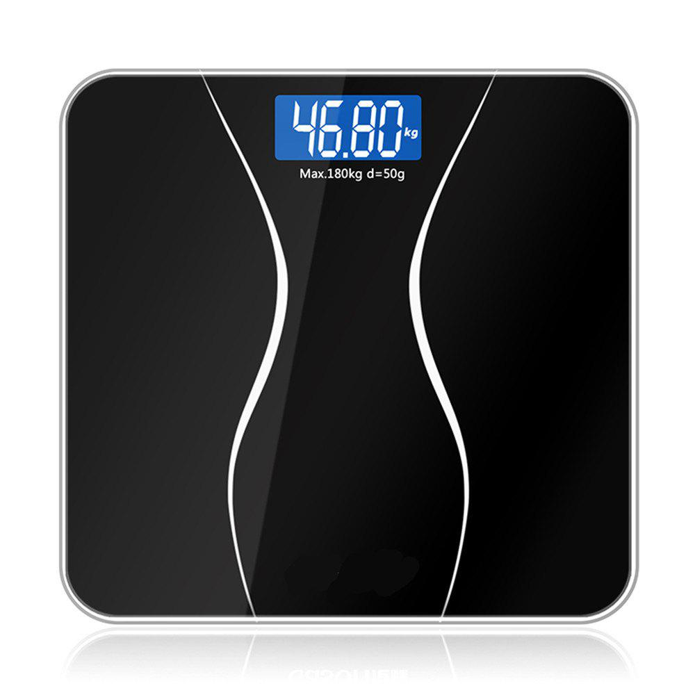 Bathroom Glass Smart Household Electronic Floor Scales LCD home lcd display weighing scale usb rechargeable electronic scales gym floor scales 180kg 50g
