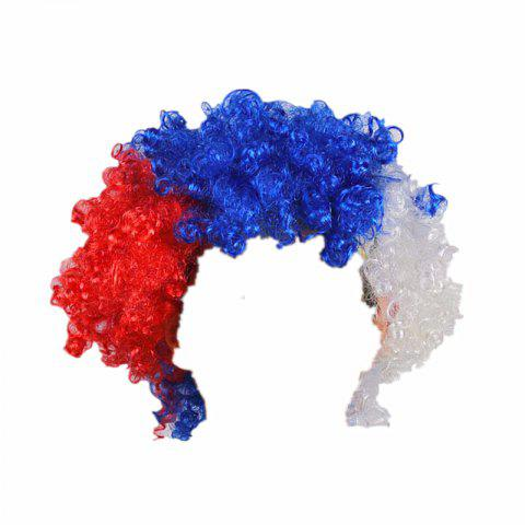 Fans Union Flags and Wigs Explode with Party Supplies - multicolor B