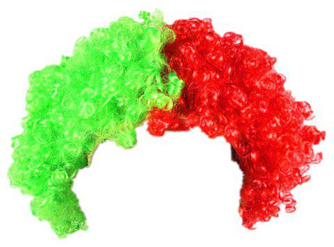 Fans Union Flags and Wigs Explode with Party Supplies - multicolor E