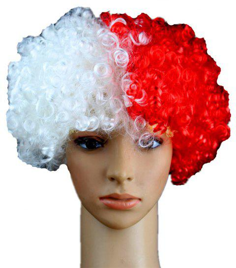 Fans Union Flags and Wigs Explode with Party Supplies - multicolor F