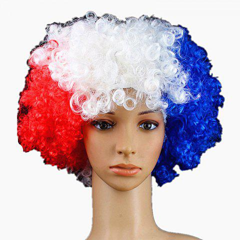 Fans Union Flags and Wigs Explode with Party Supplies - multicolor G