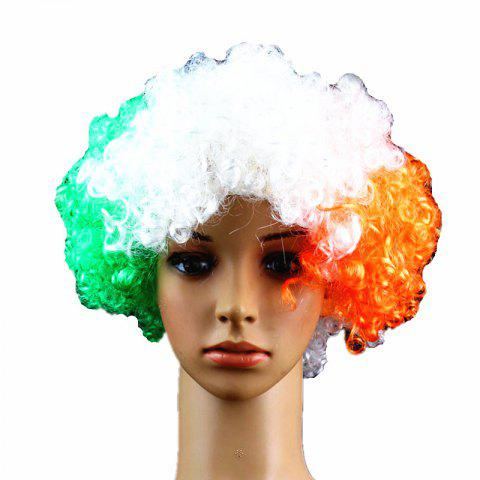 Fans Union Flags and Wigs Explode with Party Supplies - multicolor H