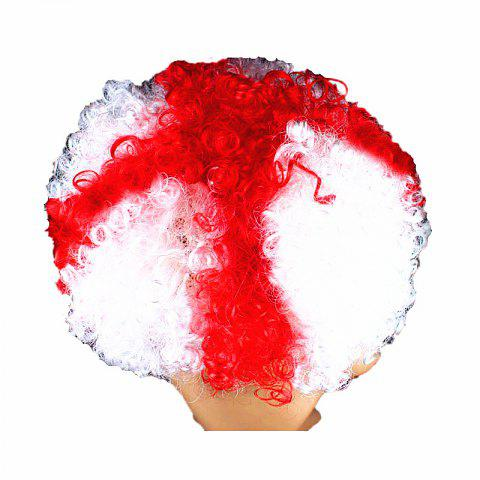 Fans Union Flags and Wigs Explode with Party Supplies - multicolor L