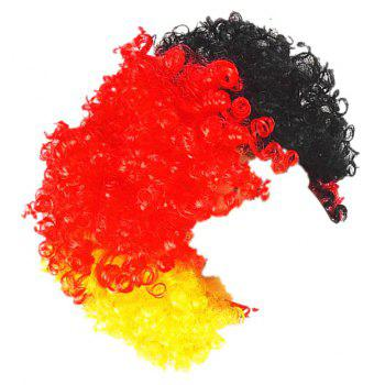 Fans Union Flags and Wigs Explode with Party Supplies - multicolor A