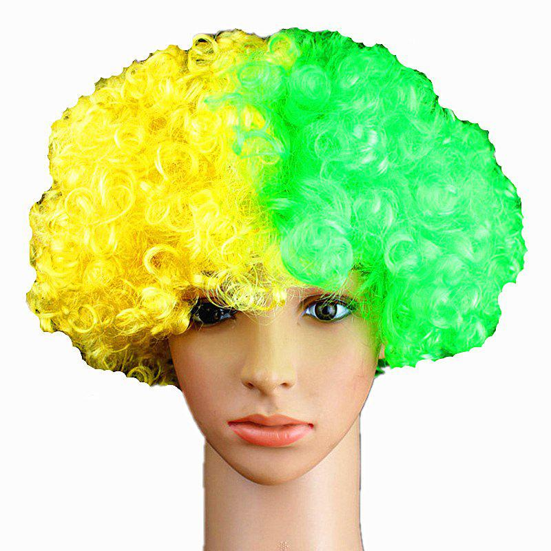 Fans Union Flags and Wigs Explode with Party Supplies - multicolor M