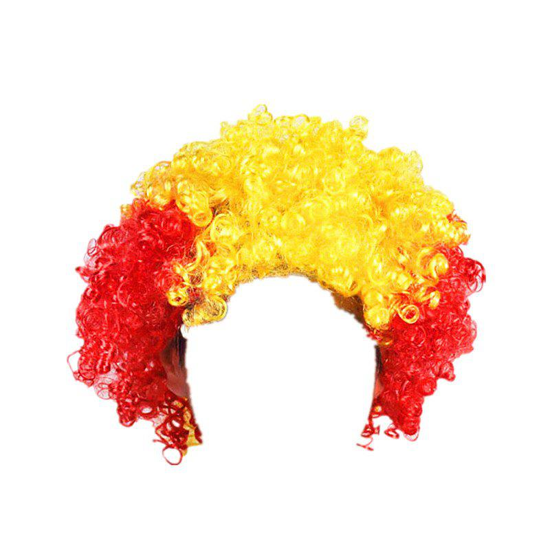 Fans Union Flags and Wigs Explode with Party Supplies - multicolor I