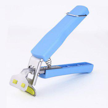 Stainless Steel Multi Function Creative Kitchen Small Tool Anti-Hot Clip - SKY BLUE