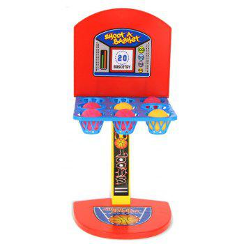 Kid Mini Basketball Toy Stand Indoor Outdoor Parent-child Family - multicolor