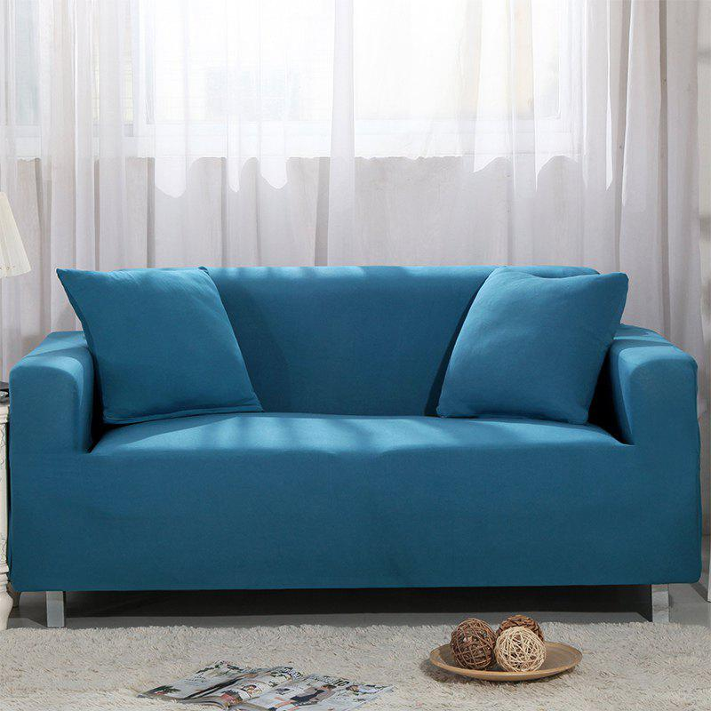 Elastic Sofa Cover for Single Person Double Three or Four Persons Combination Sofas - BLUE LAGOON SINGLE SEAT SOFA:90-140CM