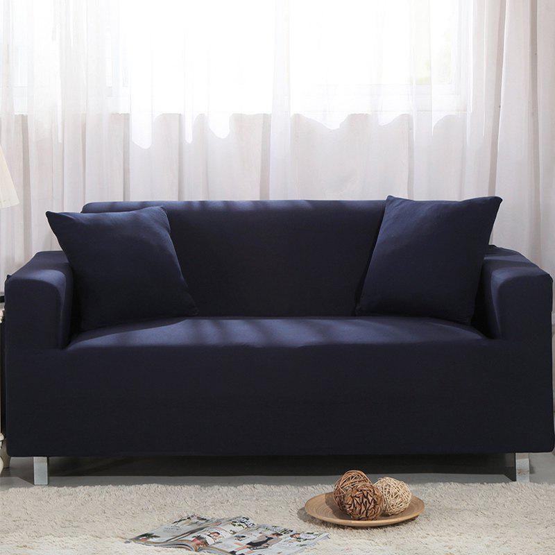 Elastic Sofa Cover for Single Person Double Three or Four Persons Combination Sofas - BLUE WHALE DOUBLE SEATS SOFA:145CM-185CM