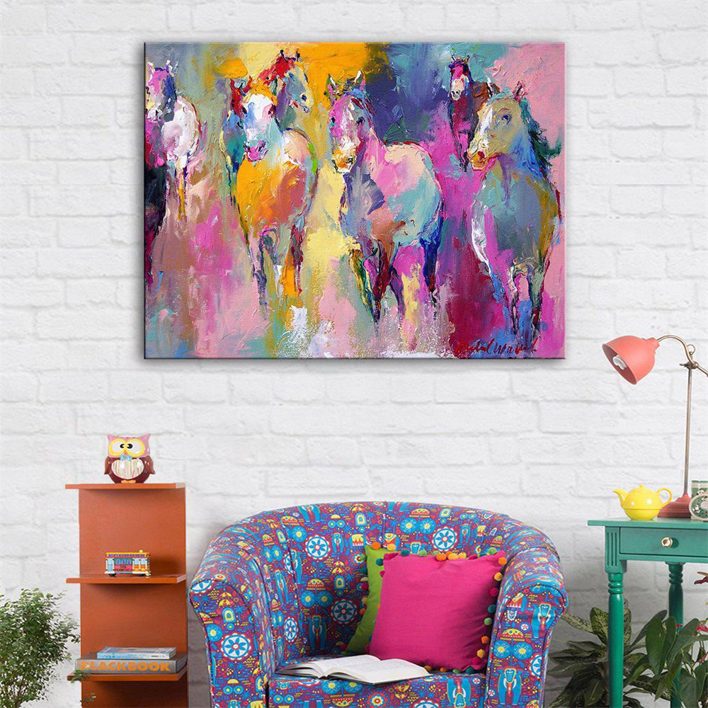 Special Design Frameless Herd of Horses Print крепление подножки 10 047 828